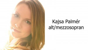 Kajsa Palmér - alt/mezzosopran